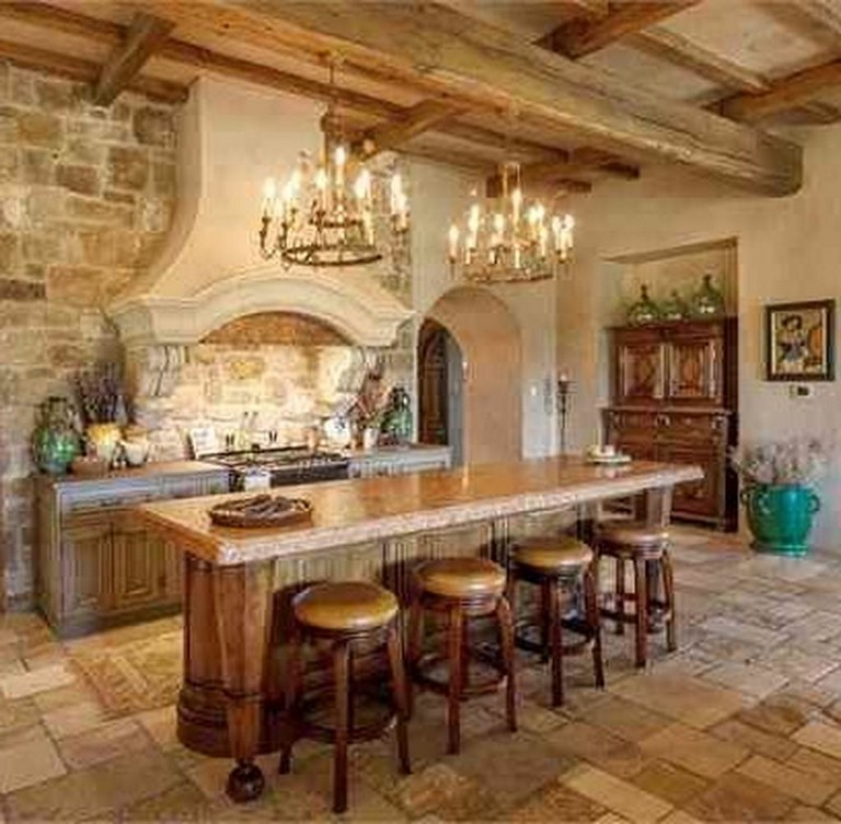 50+ Elegant Tuscan Kitchen Design Ideas